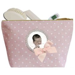 Trousse Toilette Pois Rose BB