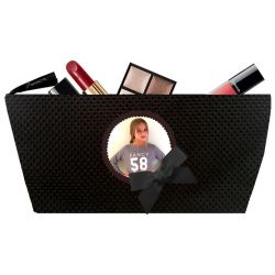 Pochette maquillage Tweed Noir