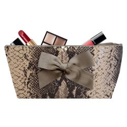Pochette maquillage Khara Sable