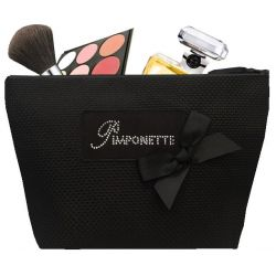 Trousse Toilette Tweed noir