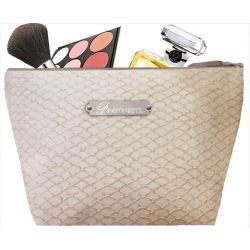 Trousse Toilette Ecaille sable
