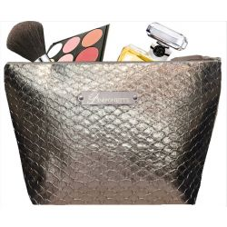 Trousse Toilette Ecaille taupe