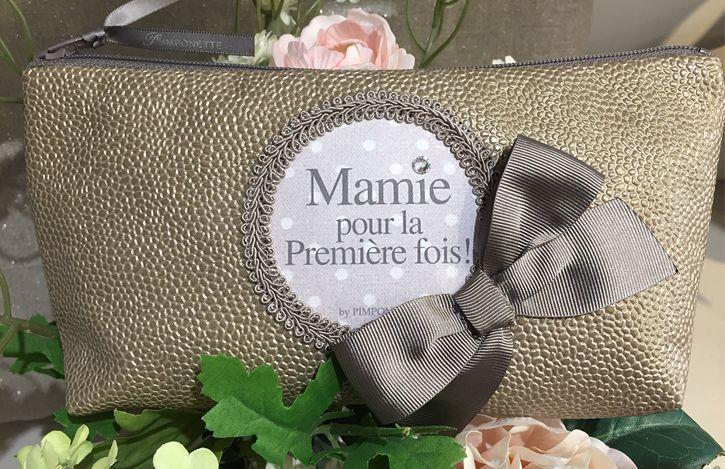 Cadeau Grand Mere Trousse Personnalisée Chic Unique